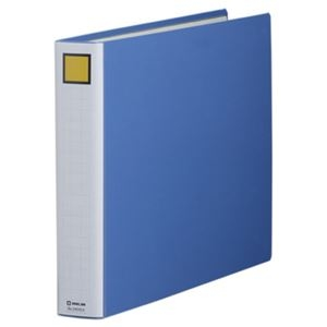 その他 (まとめ) キングファイル スーパードッチ(脱・着)イージー A3ヨコ 400枚収容 背幅56mm 青 3404EA 1冊 【×10セット】 ds-1574293