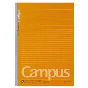 その他 (まとめ) コクヨ キャンパスノート(ドット入り罫線) A4 A罫 40枚 ノ-201ATN 1セット(5冊) 【×5セット】 ds-1576398
