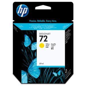 その他 (まとめ) HP72 インクカートリッジ イエロー 69ml 染料系 C9400A 1個 【×3セット】 ds-1578421