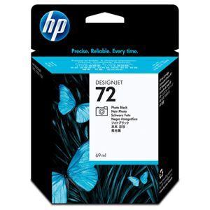その他 (まとめ) HP72 インクカートリッジ フォトブラック 69ml 染料系 C9397A 1個 【×3セット】 ds-1578427