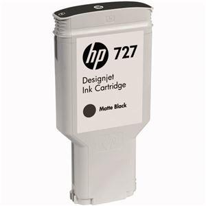 その他 (まとめ) HP727 インクカートリッジ 顔料マットブラック 300ml C1Q12A 1個 【×3セット】 ds-1578435