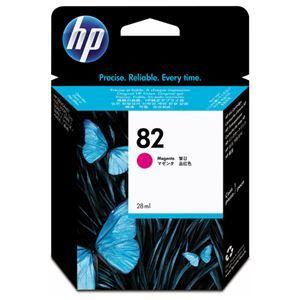 その他 (まとめ) HP82 インクカートリッジ マゼンタ 28ml 染料系 CH567A 1個 【×3セット】 ds-1578474