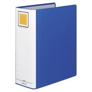 その他 (まとめ) コクヨ チューブファイル(エコツインR) A4タテ 1000枚収容 背幅115mm 青 フ-RT6100B 1冊 【×10セット】 ds-1578735