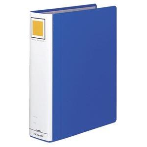 その他 (まとめ) コクヨ チューブファイル(エコツインR) A4タテ 600枚収容 背幅75mm 青 フ-RT660B 1冊 【×10セット】 ds-1578743