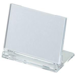 その他 (まとめ) 光 カード立て 可動式 W65×H45mm 透明 UC3-1 1個 【×80セット】 ds-1586094