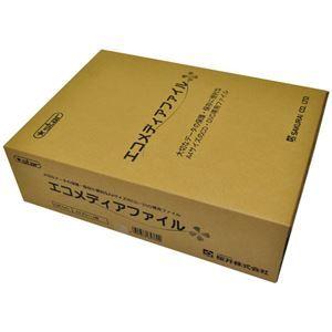 その他 (まとめ) 桜井 エコメディアファイル スリムA4 6穴 グレー EMFA4GS 1パック(5冊) 【×4セット】 ds-1586149