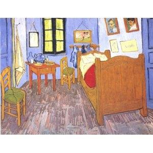 その他 世界の名画シリーズ、プリハード複製画 ヴィンセント・ヴァン・ゴッホ作 「ゴッホの部屋」【代引不可】 ds-1614311