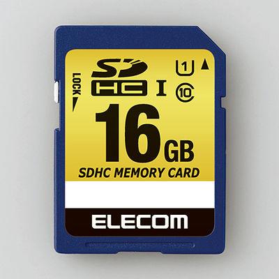 エレコム SDHCカード/車載用/MLC/UHS-I/16GB MF-CASD016GU11A