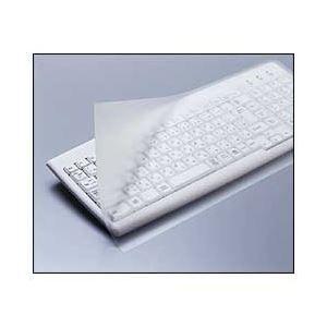 その他 (業務用セット) エレコム(ELECOM) フリータイプキーボードカバー フルキーボード用 【×5セット】 ds-1644239