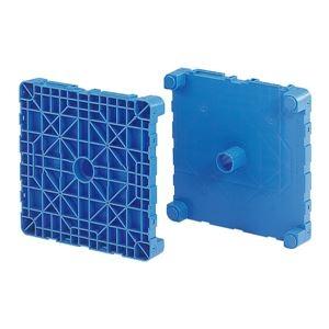 その他 三甲(サンコー) フィルムロール梱包輸送機器/プラテクター 段積み可 545 ブルー(青) ds-1647332