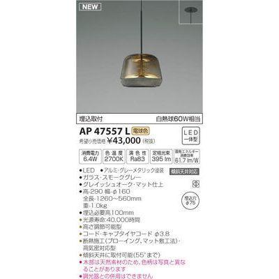 コイズミ LEDペンダント AP47557L