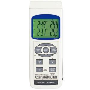 その他 カスタム 4チャンネルデータロガー温度計 CT-05SD ds-1656349