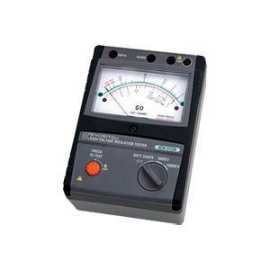 その他 共立電気計器 アナログ絶縁抵抗計(高圧) 3122A【代引不可】 ds-1656391