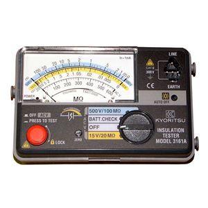その他 共立電気計器 キューメグ 2レンジ小型絶縁抵抗計 3161A【代引不可】 ds-1656440