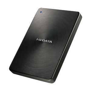 その他 アイ・オー・データ機器 USB3.0/2.0対応 ポータブルハードディスク 「カクうす」 1.0TB ブラック HDPX-UTA1.0K ds-1243142