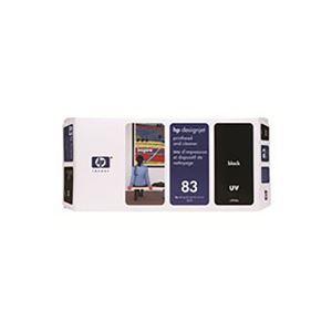 その他 【純正品】 HP UVヘッド・クリーナー/プリンター用品 【C4960A 83 BK ブラック】 ds-1660073