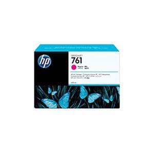 その他 【純正品】 HP インクカートリッジ 【CM993A HP761 M マゼンタ】 ds-1660195