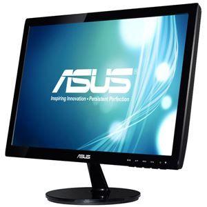 その他 ASUS TeK 18.5型ワイド液晶ディスプレイ ブラック VS197DE ds-1660996