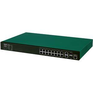 その他 パナソニックESネットワークス 16ポート PoE給電スイッチングハブ XG-M16TPoE+ PN83169 ds-1661977