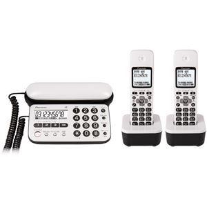 その他 パイオニア デジタルコードレス留守番電話機(子機2台) ピュアホワイト TF-SD15W-PW ds-1663089