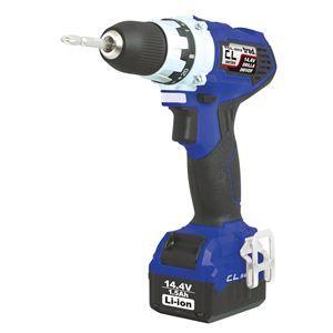 その他 (業務用5個セット) trad 充電式ドリル&ドライバー(DIY用) TCL-002 14.4V ブルー ds-1671258