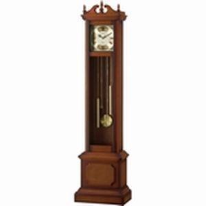 リズム時計 電波時計 置き時計 広範囲受信 ホールクロック 161.5x41x24.3cm HiARM-419R(茶色半艶仕上げ) 4RN419RH06