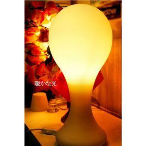 その他 テーブルランプ(照明器具/卓上ライト) 高級ガラス製 モダンデザイン 〔リビング照明/寝室照明/ダイニング照明〕【電球別売】【代引不可】 ds-1677253