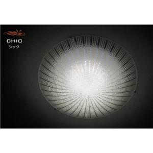 その他 シーリングライト(照明器具) LEDタイプ/20W 自然光色 ガラス使用 円形 〔リビング照明/ダイニング照明〕【電球付き】【代引不可】 ds-1677259