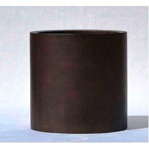 その他 木目調樹脂製鉢カバー MOKU シリンダー 40cm ds-1706486