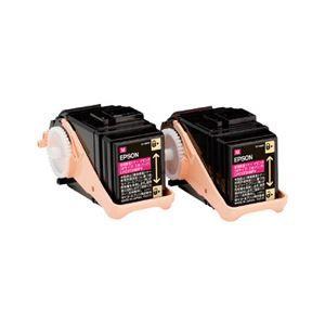 その他 エプソン LP-S7160シリーズ用環境推進トナー/マゼンタ/Mサイズ2本パック(5300ページ×2本) LPC3T33MPV ds-1708641