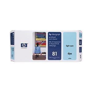 その他 HP(Inc.) 81 プリントヘッド/クリーナー ライトシアン C4954A ds-1709042