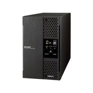 その他 オムロン 組込用途用常時インバータ/1000VA/800W/据置型 BA100T ds-1710420