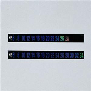 その他 デジタルサーモテープ D-38 幅:10mm【30枚入】 ds-1716132