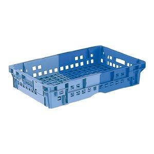 その他 (業務用10個セット)三甲(サンコー) SNコンテナ/2色コンテナボックス 【Cタイプ】 #21CP ブルー×ライトブルー 【代引不可】 ds-1718382