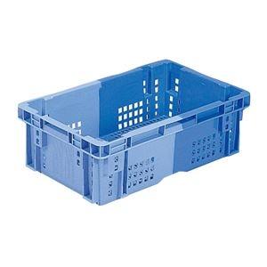 その他 (業務用10個セット)三甲(サンコー) SNコンテナ/2色コンテナボックス 【Cタイプ】 #23P ブルー×ライトブルー 【代引不可】 ds-1718409