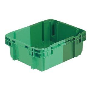 その他 (業務用10個セット)三甲(サンコー) SNコンテナ/2色コンテナボックス 【Bタイプ】 #20D グリーン×グリーン ds-1718744