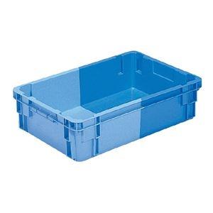 その他 (業務用5個セット)三甲(サンコー) SNコンテナ/2色コンテナボックス 【Bタイプ】 #32 ブルー×ライトブルー ds-1718833