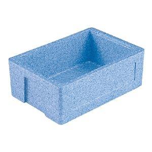 その他 (業務用12個セット)三甲(サンコー) EPボックス(発泡スチロール素材コンテナ)# 24 ブルー ds-1719303