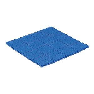 その他 (業務用10個セット)三甲(サンコー) サンスノコ(すのこ板/敷き板) 605mm×605mm 樹脂製 #660 ブルー(青) 【代引不可】 ds-1719354