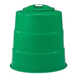 グリーン(緑) 【330L】 300型 その他 【×3セット】【代引不可】 (まとめ)三甲(サンコー) ds-1719363 コンポスターセット/生ゴミ処理容器