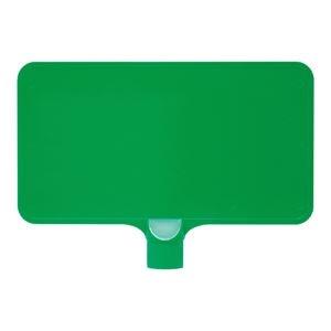 その他 (業務用20個セット)三甲(サンコー) カラーサインボード 【横型 無地】 ABS製 グリーン(緑) 【代引不可】 ds-1719668