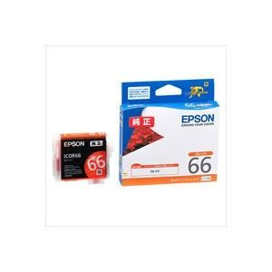 その他 (業務用40セット) EPSON エプソン インクカートリッジ 純正 【ICOR66】 オレンジ ds-1730780