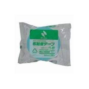 その他 (業務用100セット) ニチバン カラー布テープ 102N-50 50mm*25m ライト青 ds-1731144