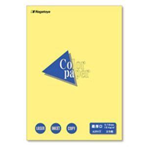 その他 (業務用100セット) Nagatoya カラーペーパー/コピー用紙 【A3/最厚口 25枚】 両面印刷対応 クリーム ds-1731860