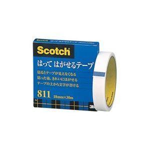 その他 (業務用100セット) スリーエム 3M メンディングテープ 811-3-18 18mm×30m ds-1732265