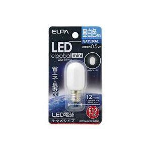 その他 (業務用80セット) 朝日電器 ELPA 電球形LEDランプ ナツメ型LDT1N-G-E12-G100 ds-1732728