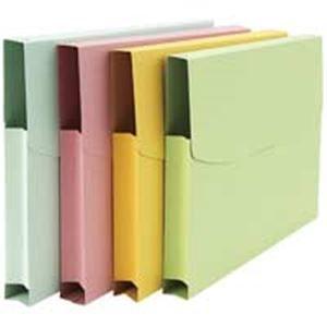 その他 (業務用100セット) ジョインテックス 紙製ケースファイルA4 3個入 緑 D072J-GR ds-1734730