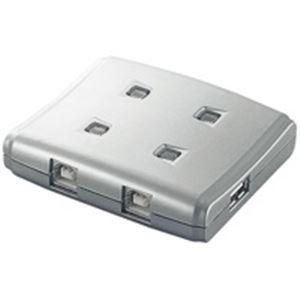 その他 (業務用10セット) エレコム(ELECOM) USB切替器4切替 USS2-W4 ds-1737207