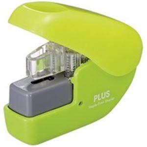 その他 (業務用100セット) プラス ペーパークリンチミニ SL-104NB GR 緑 ds-1737683