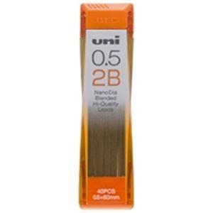 その他 (業務用200セット) 三菱鉛筆 シャープペン替芯 ユニ 0.5mm U05202ND 2B ds-1740113